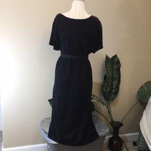 INC International Concepts Dresses - Gorgeous black white woven midi dress by INC, 2x